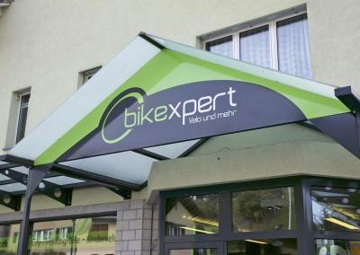 Ladenbeschriftung Bikexpert Ruswil