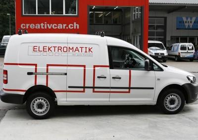 Autobeschriftung Elektromatik